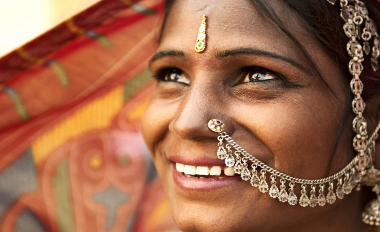 """Rajasthani Woman"""