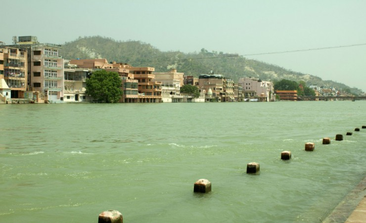 """Riverbank Of The Ganges   Haridwar"""