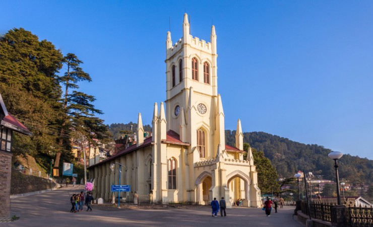 """Shimla Christ Church"""