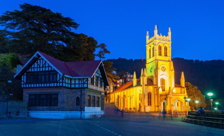 """Christ Church   Shimla"""