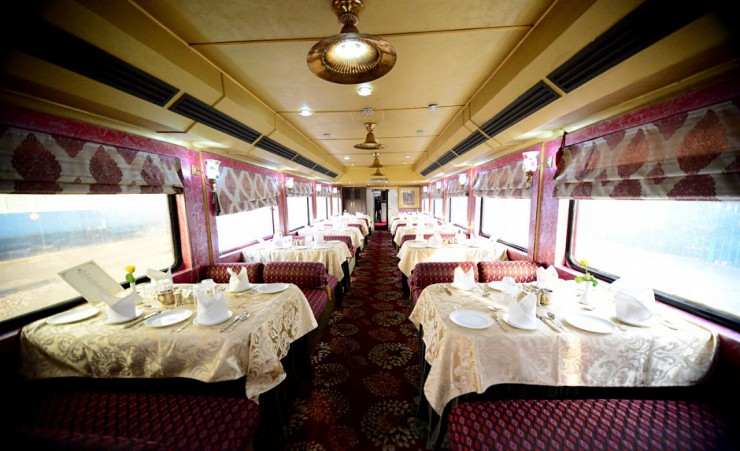 """Interior Of Palace On Wheels Train"""