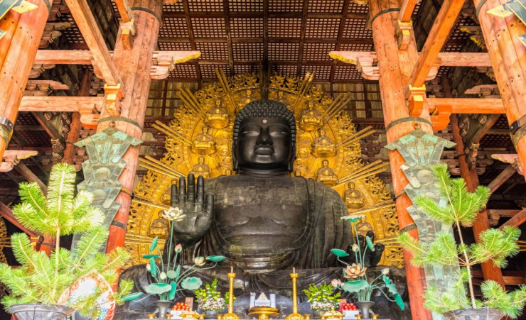 """The Great Buddha   Nara"""