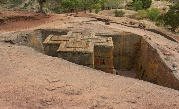 """Monolithic Rock Of St George   Lalibela"""