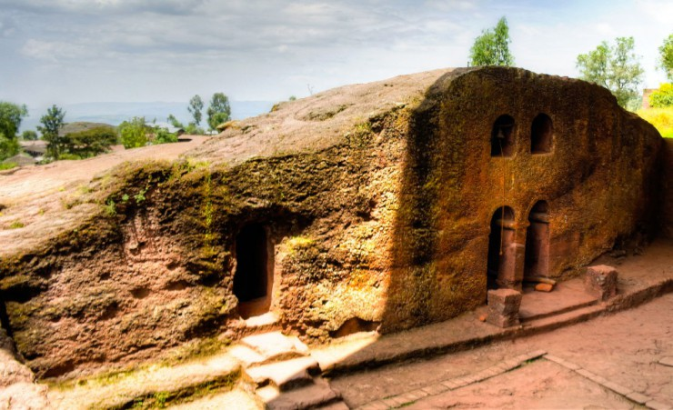 """Rock Hewn Church   Lalibela"""