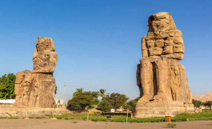 """Colossi Of Memnon"""