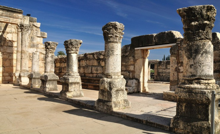 """Ancient Synagogue   Capernaum"""