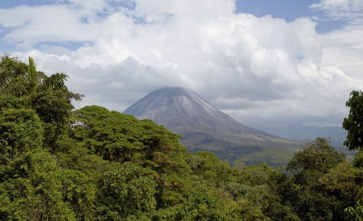 """Arenal Volcano And Rainforest"""