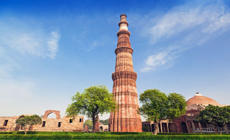 """Qutab Minar Tower   New Delhi"""