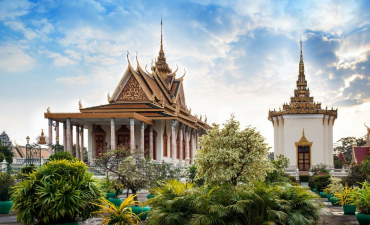 """Royal Palace, Phnom Penh"""