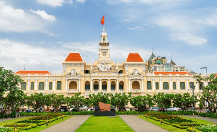 """Saigon City Hall"""