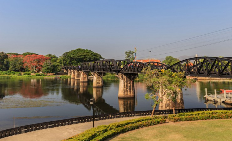 """The Famous Bridge Over The River Kwai"""