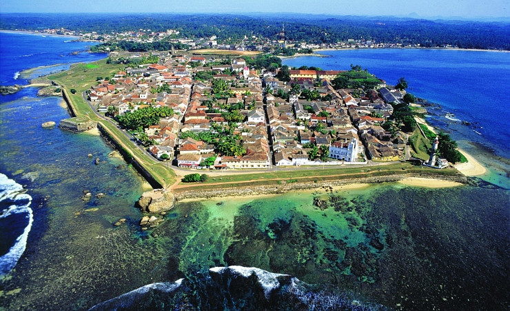 """Aerial View Of Galle Fort"""