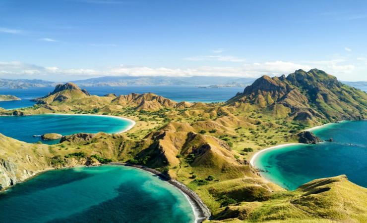 """Islands Near Labuan Bajo In Indonesia"""