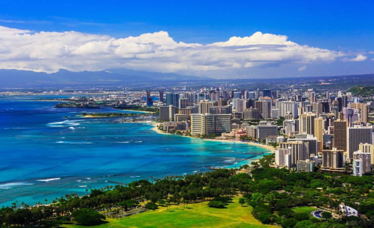 """Honolulu Skyline"""