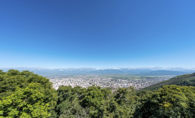"""Views Of Salta From Cerro San Bernardo"""