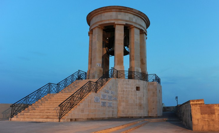"""Great Siege Memorial   Valetta"""