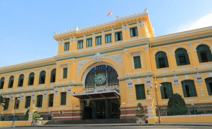"""Central Post Office   Ho Chi Minh City"""