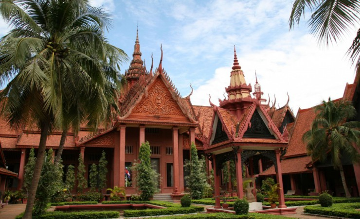 """National Museum   Phnom Penh"""