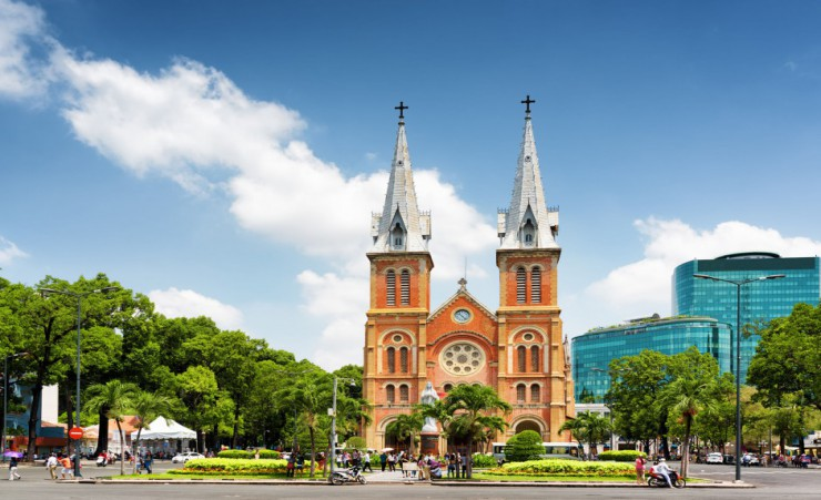 """Notre Dame Cathedral   Ho Chi Minh City"""