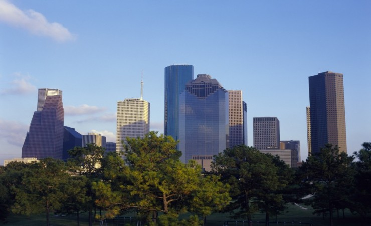 """Texas City Skyline"""