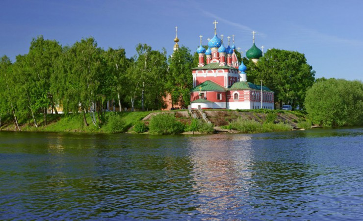 """Church Of St Dmitry On The Blood In Uglich"""