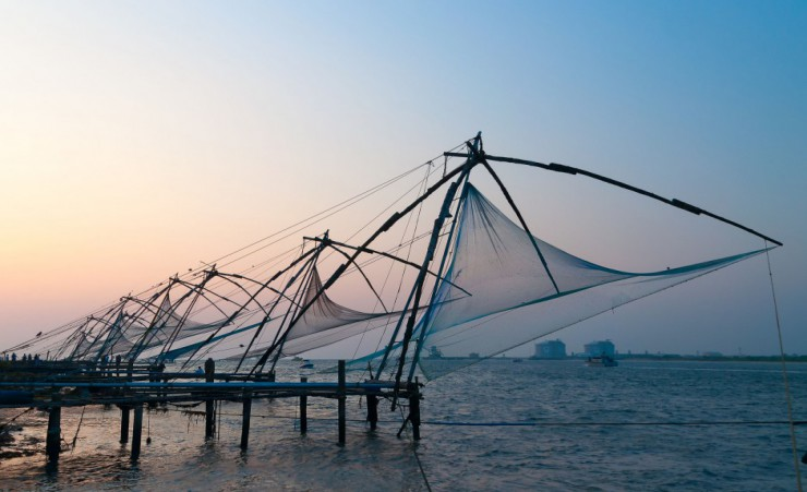 """Chinese Fishing Nets   Kochi"""