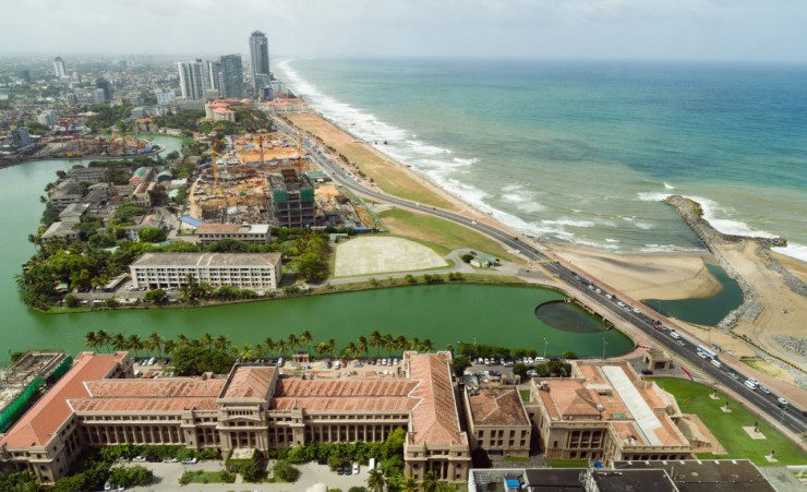 """Aerial View Of Colombo"""