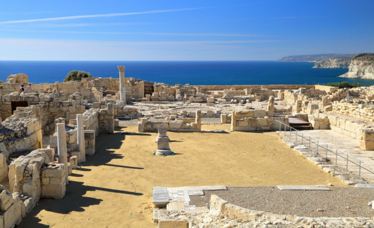 """Archeological Site Kourion"""