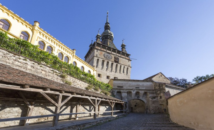"""Sighisoara Clock Tower"""