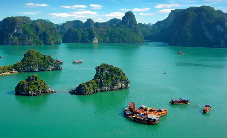 """View Of Halong Bay"""