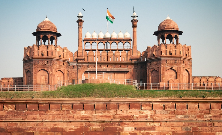"""The Red Fort"""