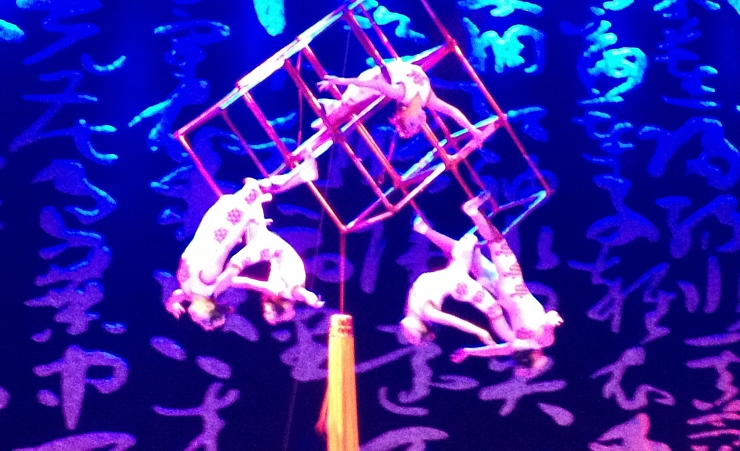 """Chinese Acrobatic Show"""