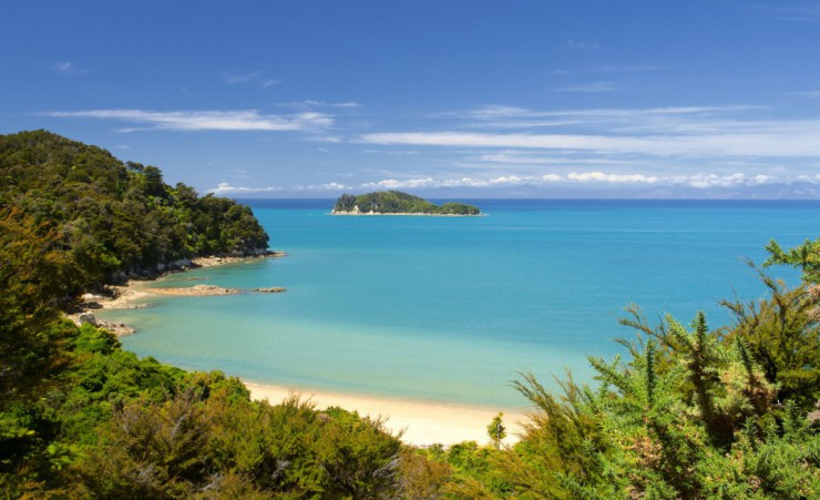 """Landscape At Abel Tasman National Park"""