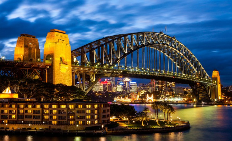 """Sydney Harbour Bridge 27821782_M"""