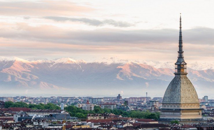 """Turin And The Alps"""