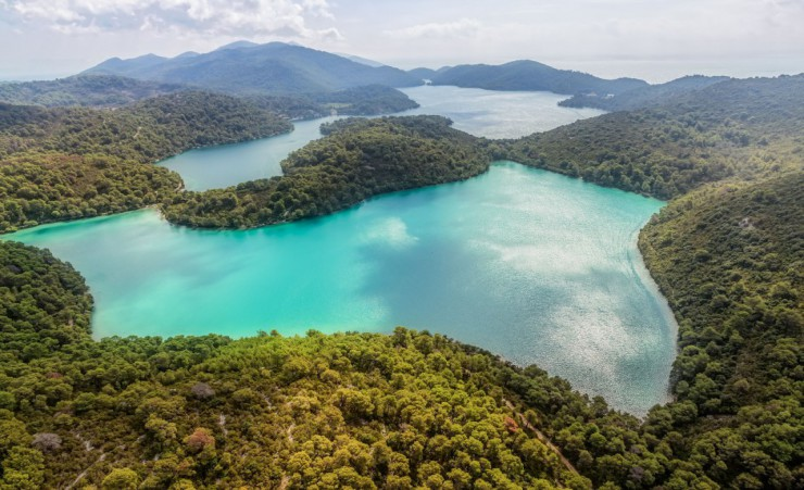 """Lake In Mljet National Park"""