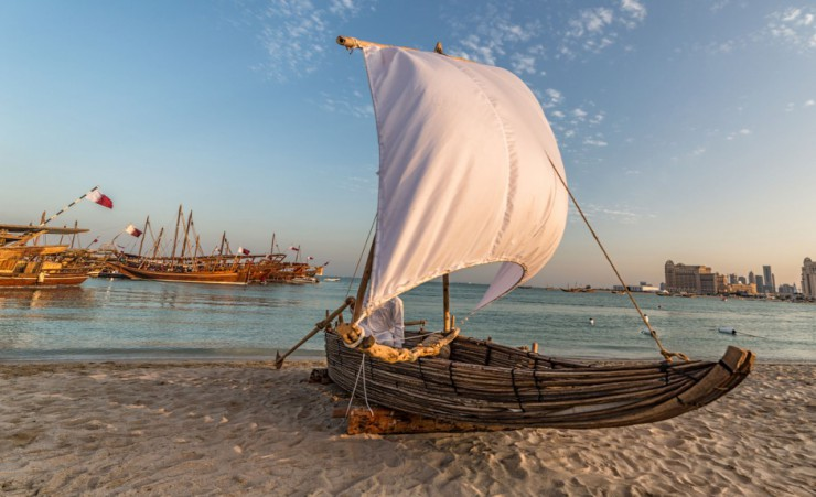 """Traditional Dhow"""