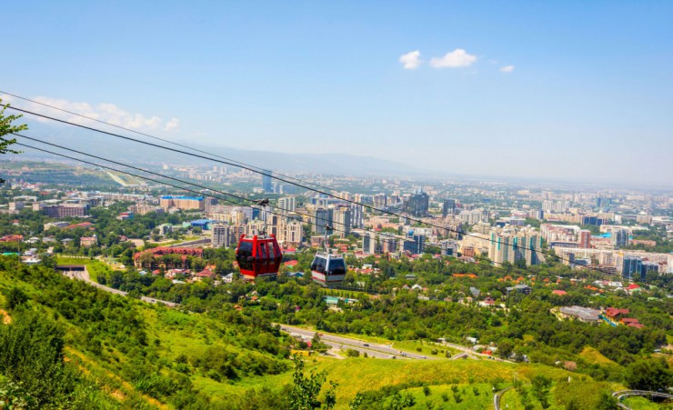 """Almaty Cable Car"""