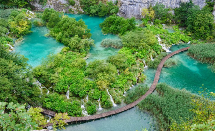 """Plitvice National Park Aerial"""