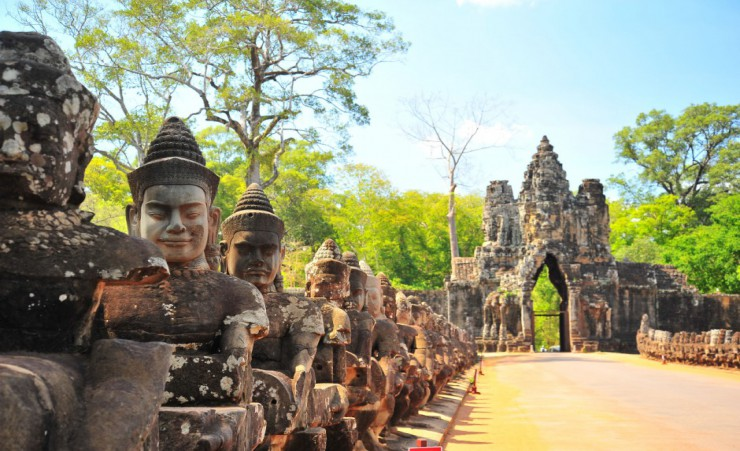 """Angkor Thom Entrance"""