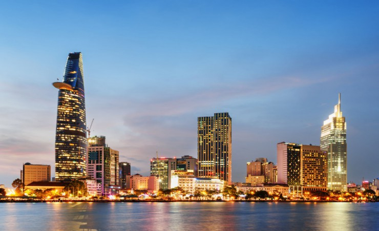 """Ho Chi Minh City Skyline"""