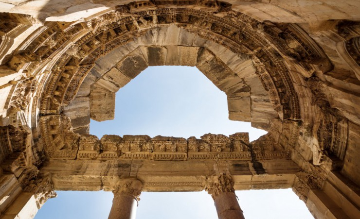 """Unesco World Heritage Baalbeck Jupiter Temple 106286247_M"""