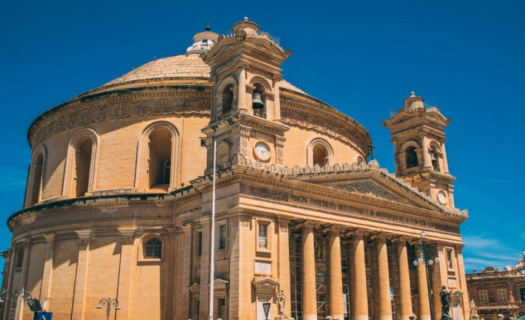 """Miracle Church Of Mosta"""