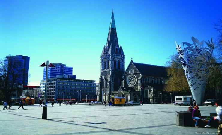 """Cathedral Square Christchurch"""