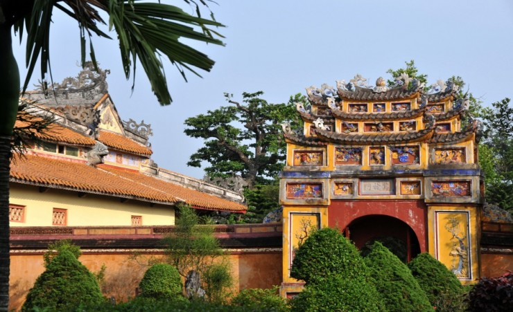 """Temple Of Father Of The Dynasty Hue"""