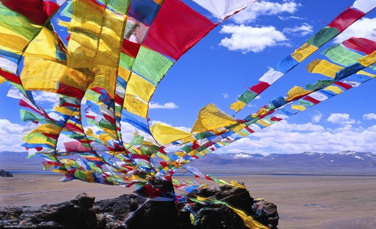 """Tibetan Prayer Flags"""