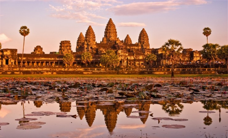 """The Angkor Wat Temple Complex"""