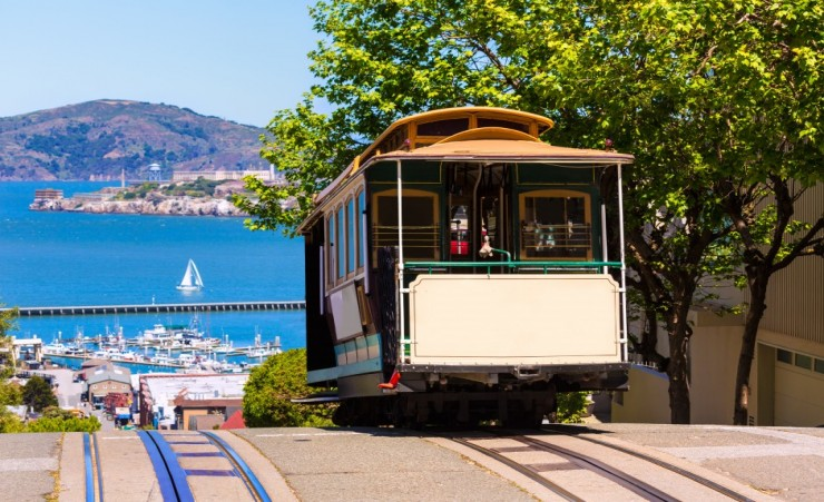 """Cable Car Tram San Francisco"""