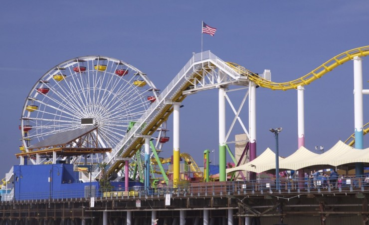 """Santa Monica Pier Los Angeles"""