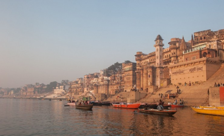 """The Ganges River Varanasi"""